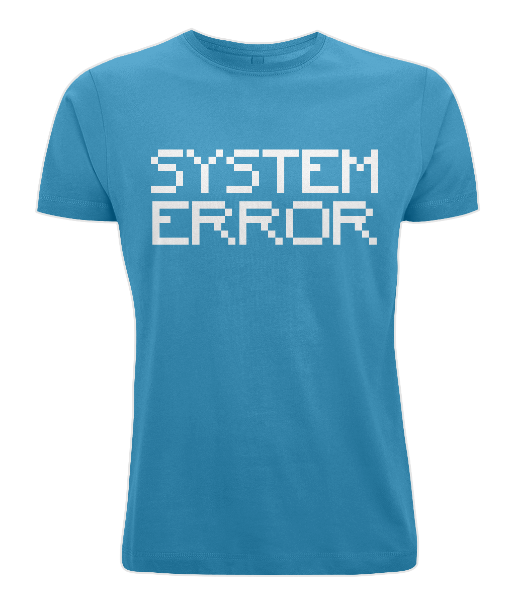 System Error (Digital Font)