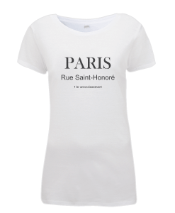 Paris Rue Saint-Honoré T-Shirt