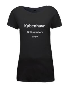 Black København Ladies T-shirt