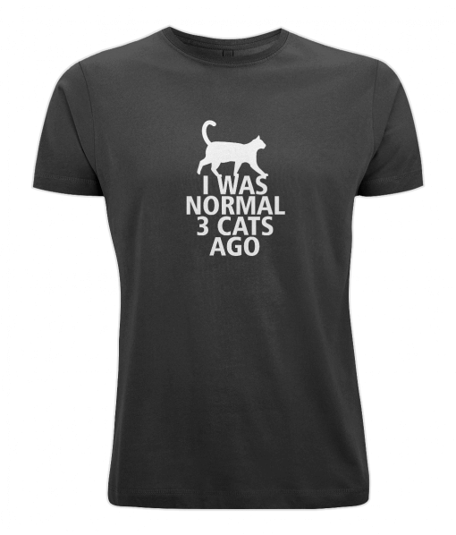 I was normal 3 cats ago tshirt