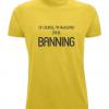 Banning Surname T-Shirt (yellow)