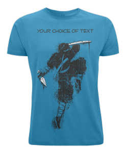 Customisable Ninja T-shirt UK