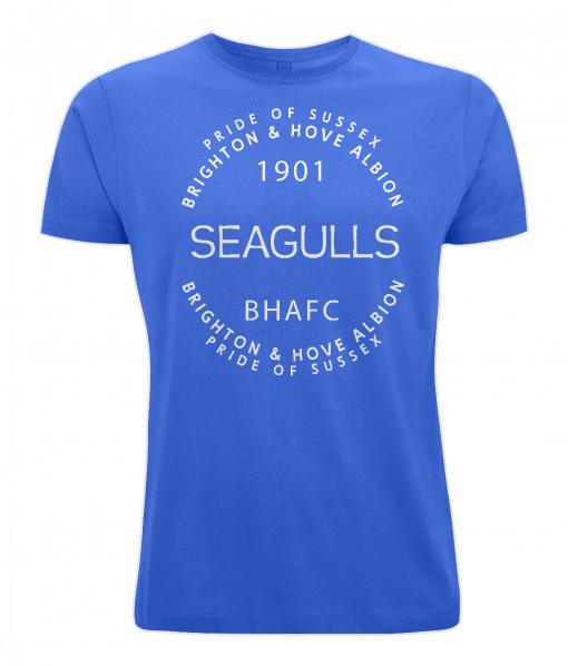 Blue Brighton & Hove Albion Fans T-Shirt