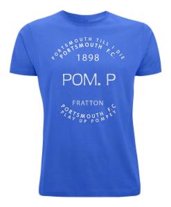 (Blue) POM.P. Portsmouth FC T-Shirt
