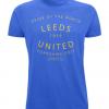 Leeds United - Yorkshire Grit Blue T-Shirt