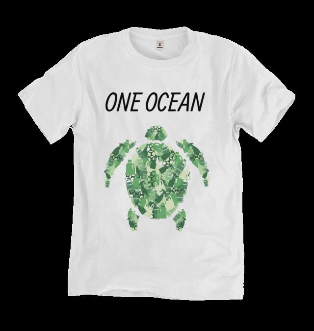One Ocean Turtle T Shirt T Shirt Uk