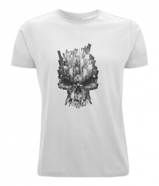 white city skull t-shirt