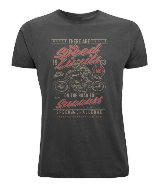Black and Red motorcyclists t-shirt UK