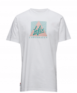 Le Fix Joy White Tshirt