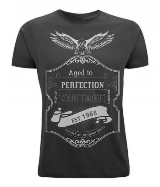 Born in 1968 aged to perfection tshirt UK