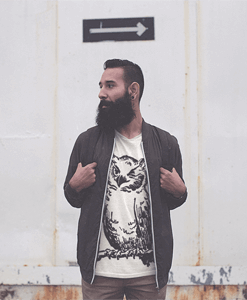 Winking Owl Hipster Tshirt