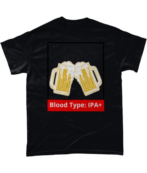 Blood Type: IPA+ T-shirt UK