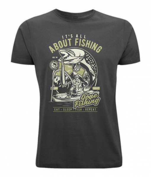 It's all about fishing t-shirt UK