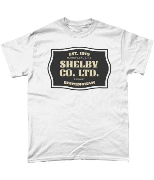 Peaky Blinders Tshirt - Shelby Company