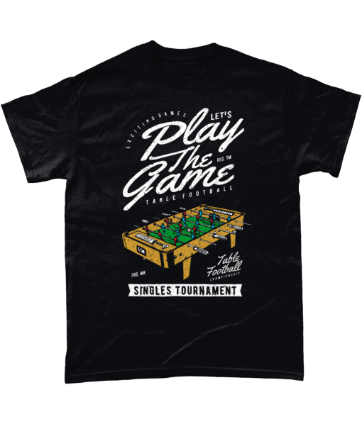 Table football t-shirt