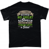 Alcohol - because no great story started with someone eating a salad t-shirt