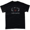 Black t-shirt - At My Age I NEED (Wine) Glasses