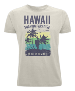 Vintage Style Hawaii Surfing T-Shirt