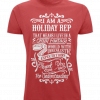 Red t-shirt - I am a holiday Rep