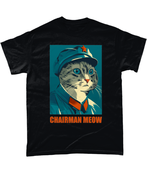 Chairman Meow Funny Cat T-shirt