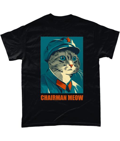 Chairman Meow Funny Cat T-shirt