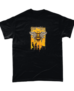 Save the bees black t-shirt