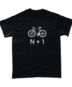 n+1 correct number of bikes tshirt
