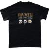 Triathlete - gaming panda t-shirt