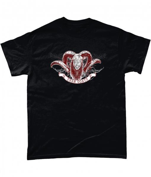 Black Team Goats t-shirt