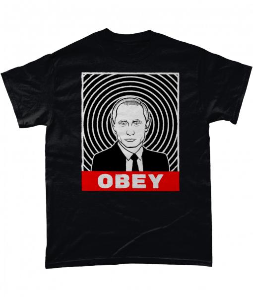 Obey Putin T-Shirt UK