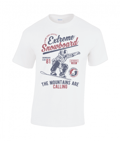 Snowboarder t-shirt UK