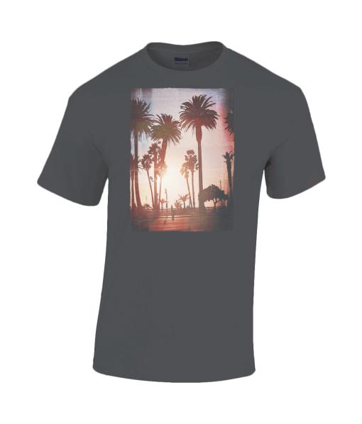 Miami style sunset t-shirt